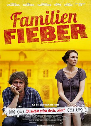 Familienfieber, DVD-Cover